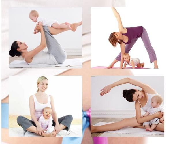 Bí quyết tập luyện giảm cân sau sinh
