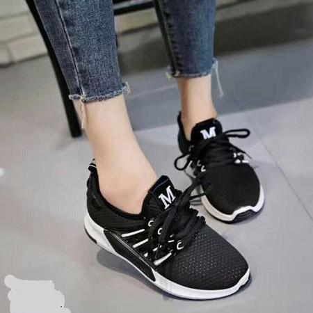 giày thể thao nữ chữ m