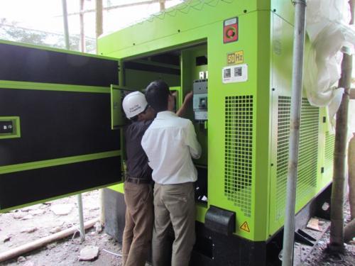 Sửa chữa vận hành máy phát điện công nghiệp