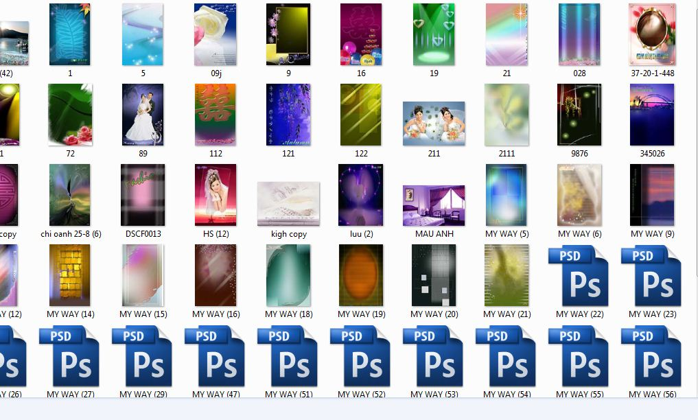 Thumbnail psd windows
